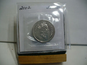 Click now to see the BUY IT NOW Price! 2002  CANADA HALF DOLLAR  NICKEL  50 CENT PIECE  PROOF LIKE SEALED  HIGH  GRADE