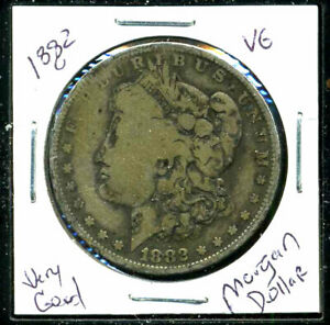 1882 O VG MORGAN DOLLAR 90 SILVER GOOD U.S.A COMBINE SHIPPING$1 COIN C1120