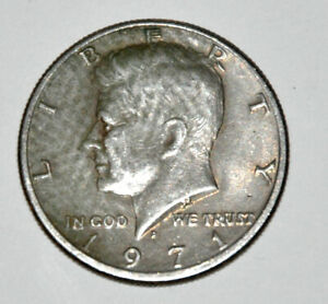 1971 D KENNEDY HALF MINT ERROR