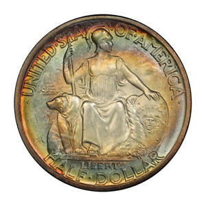 Click now to see the BUY IT NOW Price! SAN DIEGO 1936 D 50C SILVER COMMEMORATIVE PCGS MS67   CAC  3148 14 PQ  COLOR