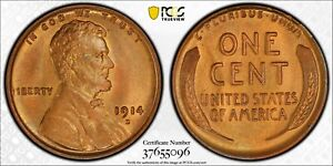 Click now to see the BUY IT NOW Price! 1914 D LINCOLN WHEAT CENT COPPER PENNY PCGS MS 65  RB CAC