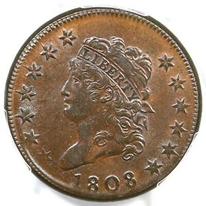 Click now to see the BUY IT NOW Price! 1808 S 277 R 2 PCGS MS 62 BN CLASSIC HEAD LARGE CENT COIN 1C