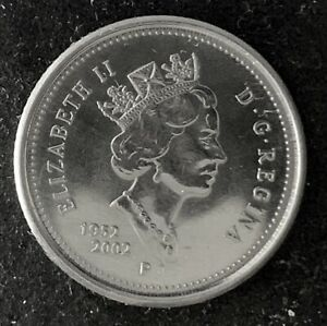 2002 P CANADA 10 CENTS UNCIRCULATED COIN PROOF DEEP CAMEO   1203