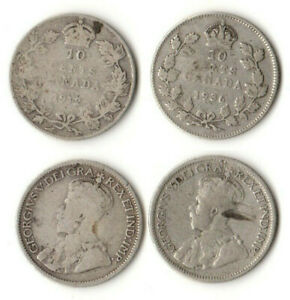 10 CENTS 1912 & 1936