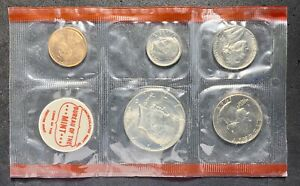 1969 U.S. MINT SET NO OGP 10 COINS 2 TOKENS DDR ERROR QUARTER DOLLAR  02