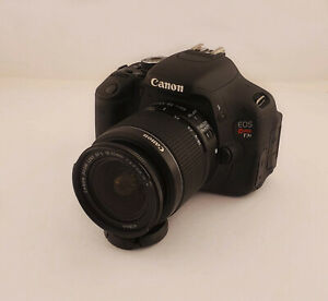 CANON EOS REBEL T3I 18.0MP DIGITAL SLR CAMERA WITH EF S 18 55MM IS II LENS