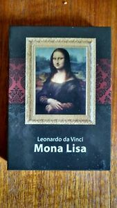 MONA LISA SILVER PLATED PROOF COLLECTORS COIN MUSEUM COLLECTION DA VINCI