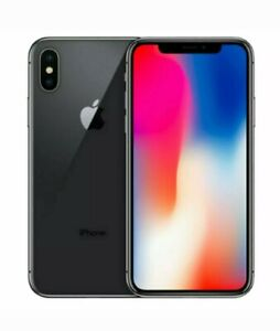 APPLE IPHONE X   256GB SPACE GRAY FACTORY UNLOCKED AT&T T MOBILE VERIZON  MORE
