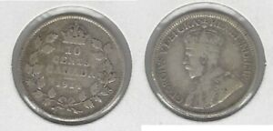 CANADIAN 1914 DIME .800 SILVER COIN .. TAKE A LOOK