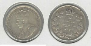 CANADIAN 1919 DIME .800 SILVER COIN .. TAKE A LOOK