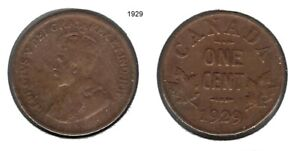 CANADIAN 1932 GEORGE V  CENT    TAKE A LOOK