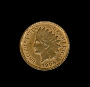 1908 INDIAN HEAD CENT GEM UNCIRCULATED RED BROWN @@@@ ADORABLE @@@@