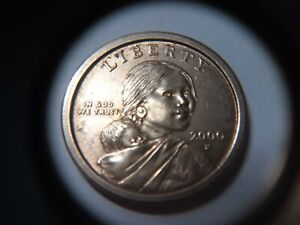 NICE  2000 P SACAGAWEA $1 ONE DOLLAR COIN DDR DOUBLE DIE REVERSE ERROR COIN
