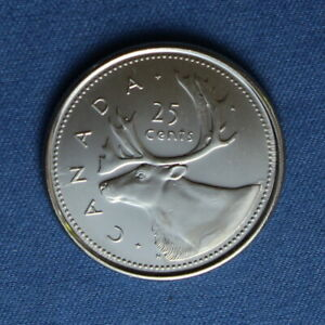 CANADA 2002 QUARTER  25 CENTS  FROM A MINT ROLL
