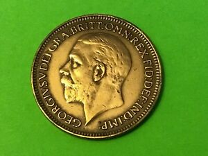 1936 FARTHING COIN KING GEORGE V