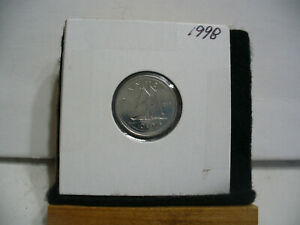 1998  CANADA  DIME  10 CENTS    TOP GRADE  98  PROOF LIKE  SEALED  SEE PHOTOS