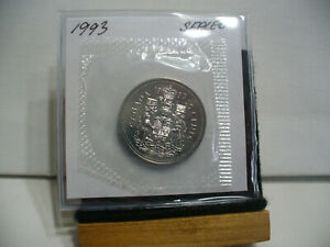1993  CANADA HALF DOLLAR   NICKEL  50 CENT PIECE  PROOF LIKE SEALED  HIGH  GRADE