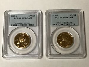 Click now to see the BUY IT NOW Price! SACAGAWEA / NATIVE AMERICAN $1 COMPLETE COLLECTION   PR69DCAM 2000 THRU 2019