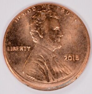 2012 D Lincoln Shield Penny ~ Uncirculated Coin from Bank Roll