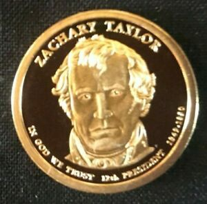 2009 S ZACHARY TAYLOR PROOF PRESIDENTIAL DOLLAR CAMEO