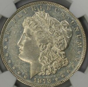Click now to see the BUY IT NOW Price! 1878 P 8 TF MORGAN SILVER DOLLAR NGC AU 58 VAM 14.18
