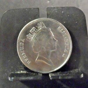 CIRCULATED 1994 25 CENTS BERMUDA COIN  42818 1 ..