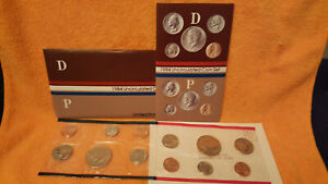 1984 US MINT SET   PHILADELPHIA & DENVER