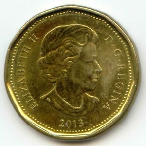 CANADA 2013 LOONIE CANADIAN ONE DOLLAR $1 EXACT COIN SHOWN