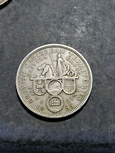 1955 EAST CARIBBEAN STATES 50 CENTS   LOW MINTAGE COIN 222