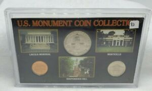 US MONUMENT COIN COLLECTION   US MINTED COIN SET