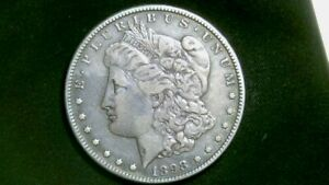 BEAUTIFUL 1898 S MORGAN SILVER DOLLAR EXACT ONE SHOWN IN PICS  1152