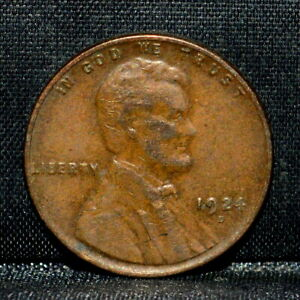 1924 D LINCOLN WHEAT CENT  XF EXTRA FINE  1C  DATE  L82 TRUSTED