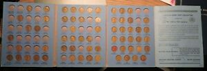 1909 TO 1940 PDS PARTIAL SET OF 63 LINCOLN WHEAT CENTS