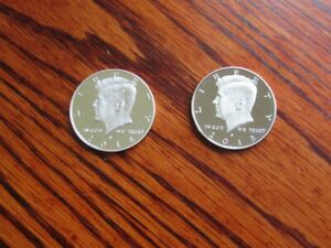 2012 S CLAD AND SILVER PROOF KENNEDY HALF DOLLAR  SET