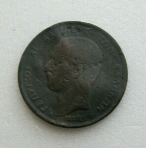 GREECE COIN 5 LEPTA 1882 COPPER 25MM
