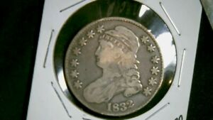 1832 CAPPED BUST 50 CENT SEE PICS  1303