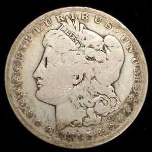 1895 S MORGAN SILVER DOLLAR SAN FRANCISCO IN G   VG CONDITION KEY DATE