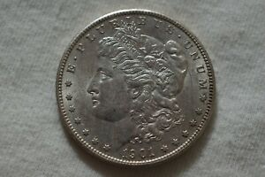 1901 S MORGAN SILVER DOLLAR BETTER KEY DATE  IN THIS CONDITION   LOOK