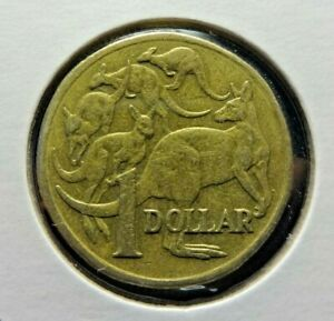 AUSTRALIA 1998  1$ ONE DOLLAR  MOB OF ROOS