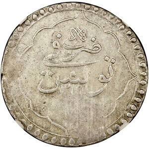 Click now to see the BUY IT NOW Price! OTTOMAN SELIM III SILVER PIASTRE TUNIS AH 1219 NGC XF45