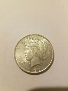 1922 LIBERTY PEACE SILVER DOLLAR
