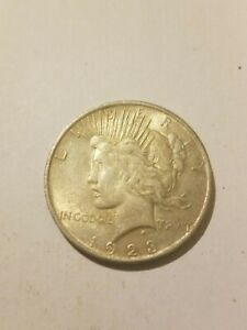 1923 LIBERTY PEACE SILVER DOLLAR