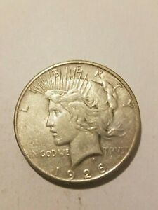 1926 LIBERTY PEACE SILVER DOLLAR