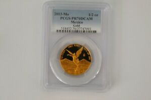 Click now to see the BUY IT NOW Price! 2013   POP 38 MEXICAN MEXICO 1/2 ONZA GOLD LIBERTAD PROOF PCGS PR70DCAM   EBUCKS