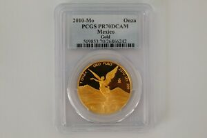 Click now to see the BUY IT NOW Price! 2010   POP 16 MEXICAN MEXICO 1 ONZA GOLD LIBERTAD PROOF PCGS PR70DCAM   EBUCKS