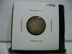 Click now to see the BUY IT NOW Price! 1906  CANADA SILVER DIME   CANADIAN   10  CENT COIN  06  GOOD  GRADE