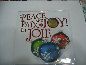Click now to see the BUY IT NOW Price! 2015 COMMEMORATIVE  COIN SET 1$   CANADA SPECIAL DOLLAR  LOONIE  PEACE & JOY