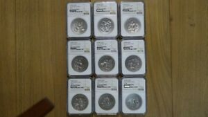 Click now to see the BUY IT NOW Price! 2015 2 OZ NORSE GODS SILVER COIN COLLECTION ALL NGC 70  9COINS