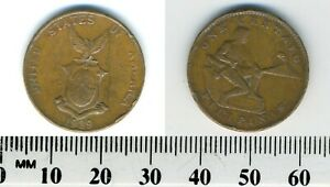 USA ADMINISTERED PHILIPPINES 1939 M   1 CENTAVO BRONZE COIN   MALE SEATED