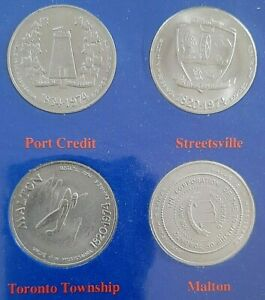 THE EARLY SETTLEMENTS OF MISSISSAUGA COMMEMORATIVE COINS
